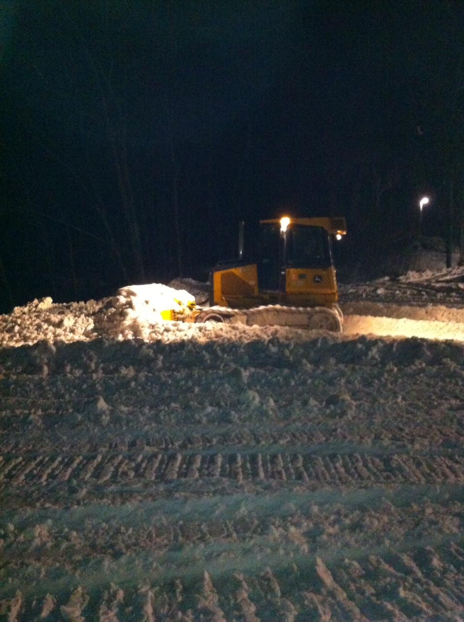 snow cat plowing management